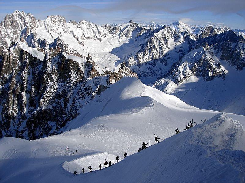 карта франции юг горнолыжные курорты шамони фото можем снять