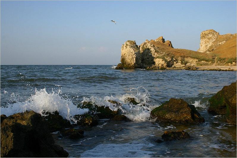 Отдых на Азовском море.