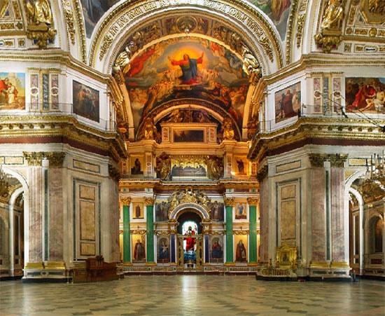 Исаакиевский собор в Санкт-Петербурге. Виртуальная экскурсия